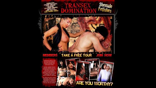 TranSexDomination - SiteRip