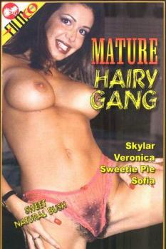 Mature Hairy Gang