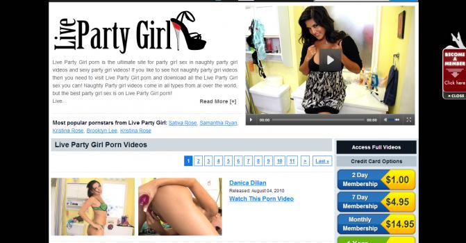 LivePartyGirl - SiteRip