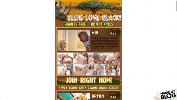 TeensLoveBlacks.com - SITERIP