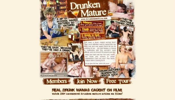DrunkenMature – SiteRip
