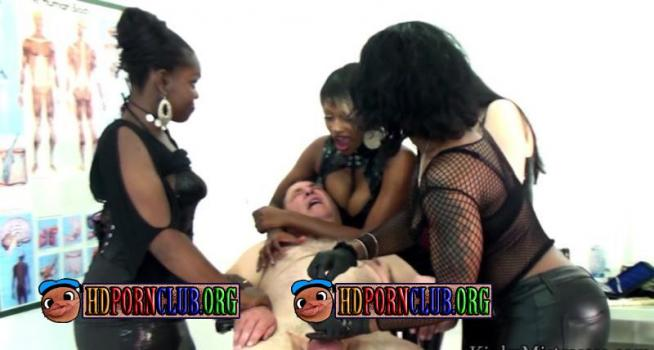 KinkyMistresses.com – Mistresses – Four Ladies in the Medical Room [HD 720p]