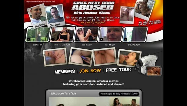 GirlsNextDoorAbused – SiteRip